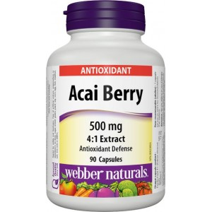 ACAI Berry 500 mg Webber Natural
