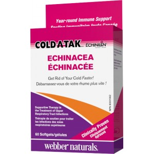 Cold-A-Tak Echinacea 250 mg Webber Naturals
